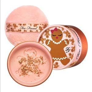 NIB Too Faced Gingerbread Kissable Body Shimmer